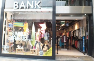 Bank Fashion Store West Quay